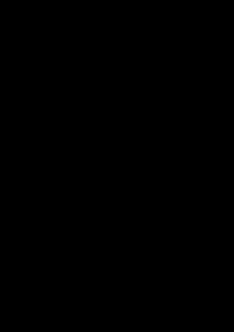 ガラガラの型紙